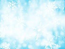Priorità bassa 1 della neve Fotografia Stock Libera da Diritti