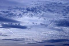 Priorità bassa della nube Immagini Stock