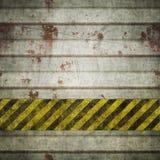 Priorità bassa della parete del metallo di Grunge illustrazione di stock