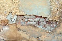 Priorità bassa della parete dello stucco Fotografia Stock Libera da Diritti