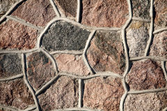 Priorità bassa della parete di pietra immagini stock libere da diritti