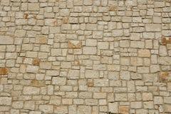 Priorità bassa della parete di pietra Fotografia Stock