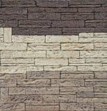Priorità bassa della parete di pietra. Fotografie Stock