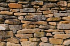 Priorità bassa della parete di pietra Fotografie Stock