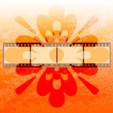 Priorità bassa della pellicola astratta Fotografia Stock