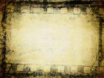 Priorità bassa della pellicola di Grunge illustrazione di stock