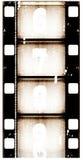 Priorità bassa della pellicola di Grunge Fotografie Stock Libere da Diritti