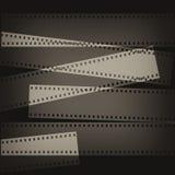 Priorità bassa della pellicola di Grunge Fotografie Stock