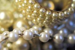Priorità bassa della perla Fotografia Stock Libera da Diritti