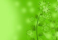 Priorità bassa della pianta del fiore royalty illustrazione gratis