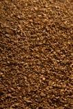 Priorità bassa della polvere del caffè solubile Immagini Stock