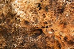 Priorità bassa della roccia vulcanica Immagine Stock