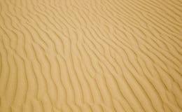 Priorità bassa della sabbia Fotografia Stock