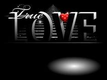 Priorità bassa della scheda del biglietto di S. Valentino Fotografie Stock