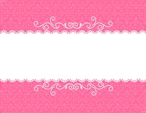Priorità bassa della scheda dell'invito Immagine Stock