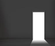 Priorità bassa della stanza scura fotografie stock libere da diritti