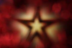 Priorità bassa della stella di natale Immagine Stock Libera da Diritti