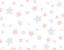 Priorità bassa della stella rossa e blu Fotografia Stock