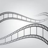 Priorità bassa della striscia della pellicola Fotografie Stock