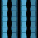 Priorità bassa della striscia della pellicola Immagine Stock