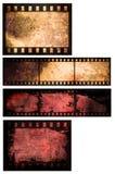 Priorità bassa della striscia della pellicola astratta Fotografie Stock Libere da Diritti