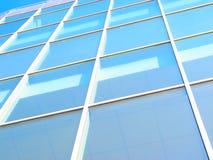 Priorità bassa della struttura di costruzione di affari Fotografia Stock