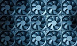 Priorità bassa della turbina del ventilatore immagini stock