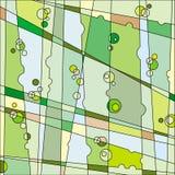 Priorità bassa della vegetazione illustrazione vettoriale