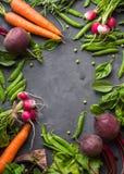Priorità bassa della verdura fresca Fotografie Stock