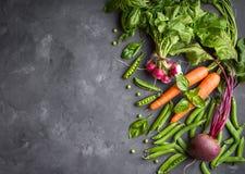 Priorità bassa della verdura fresca Immagine Stock Libera da Diritti