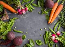 Priorità bassa della verdura fresca Fotografie Stock Libere da Diritti