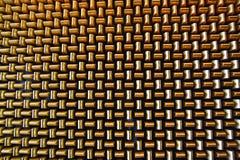 Priorità bassa delle barre di oro d'intersezione Fotografie Stock Libere da Diritti