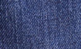 Priorità bassa delle blue jeans Fotografia Stock Libera da Diritti