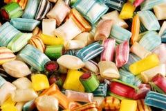 Priorità bassa delle caramelle dure Fotografia Stock Libera da Diritti