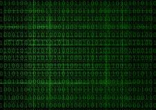 Priorità bassa delle cifre binarie Immagini Stock