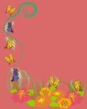 Priorità bassa delle farfalle Fotografia Stock Libera da Diritti