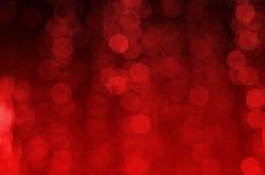 Priorità bassa delle luci rosse Immagine Stock Libera da Diritti