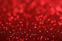 Priorità bassa delle luci rosse Fotografia Stock