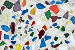 Priorità bassa delle mattonelle di mosaico Fotografia Stock