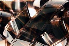 Priorità bassa delle negazioni di pellicola della foto Immagini Stock Libere da Diritti