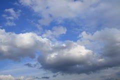 Priorità bassa delle nubi Fotografie Stock Libere da Diritti