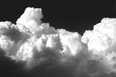 Priorità bassa delle nubi di tempesta Immagini Stock Libere da Diritti