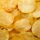 Priorità bassa delle patatine fritte immagini stock libere da diritti