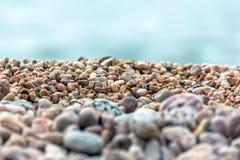 Priorità bassa delle pietre Fotografia Stock