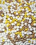 Priorità bassa delle pillole Immagine Stock Libera da Diritti
