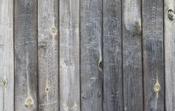 Priorità bassa delle schede di legno Parete dei bordi di legno anziani Fotografia Stock Libera da Diritti