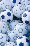 Priorità bassa delle sfere di calcio. Fotografia Stock Libera da Diritti