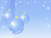 Priorità bassa delle sfere di nuovo anno. Immagini Stock Libere da Diritti