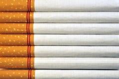 Priorità bassa delle sigarette Immagini Stock