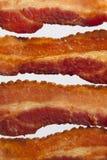Priorità bassa delle strisce di pancetta affumicata Immagini Stock
